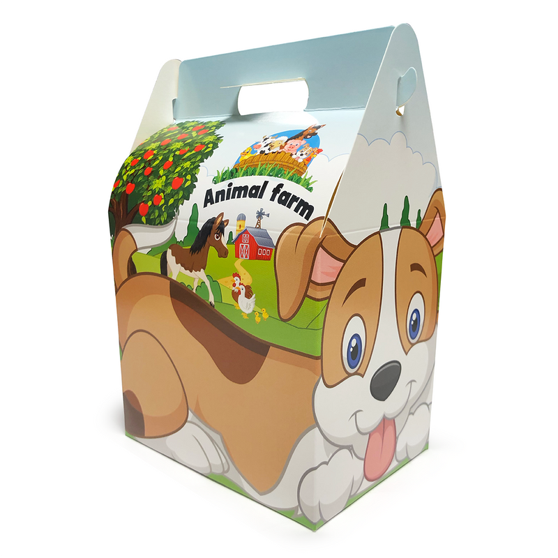 Kids Party Meal Box - GM Packaging UK