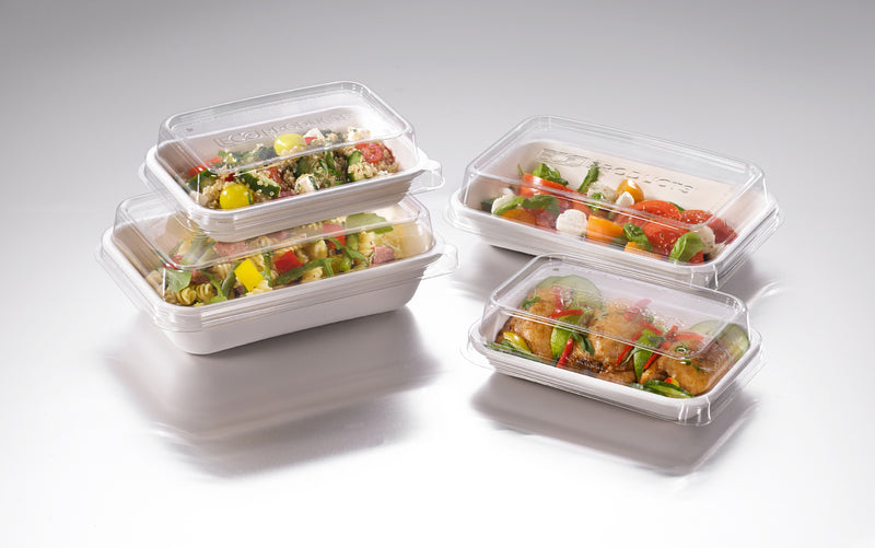 470ml Rectangular Worldview Takeaway Container - GM Packaging (UK) Ltd