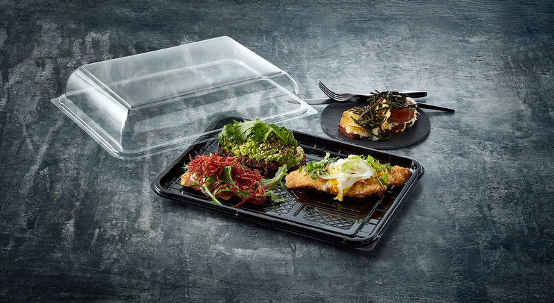 Medium Rectangular Catering Platter COMBI - GM Packaging (UK) Ltd
