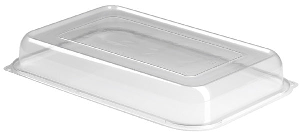 Clear Medium Plastic Dome Lid Platter - GM Packaging (UK) Ltd