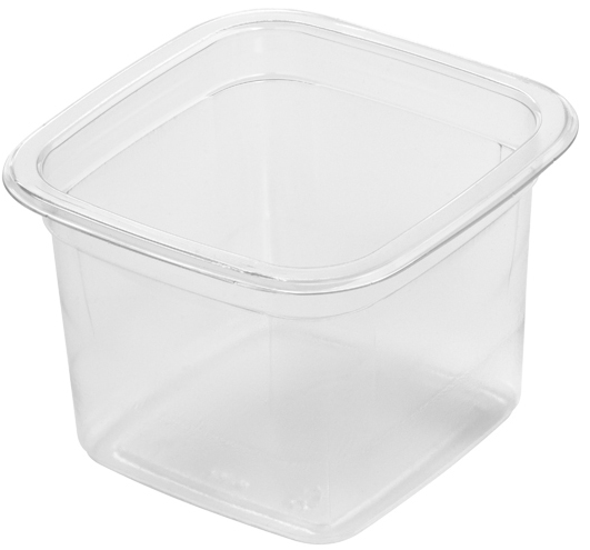 12oz rPET Square Deli Pot/700s - GM Packaging (UK) Ltd