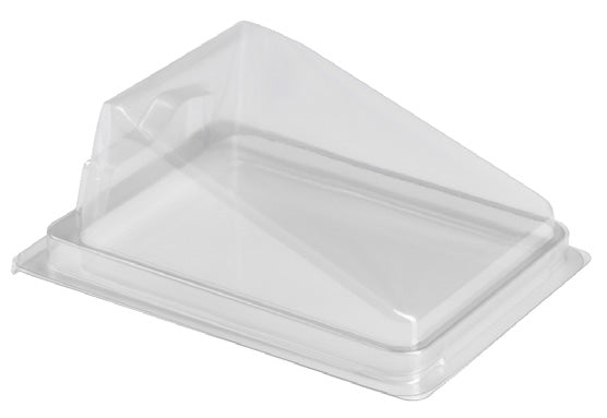 Gateaux Cake Slice rPET Hinged Lid - GM Packaging (UK) Ltd