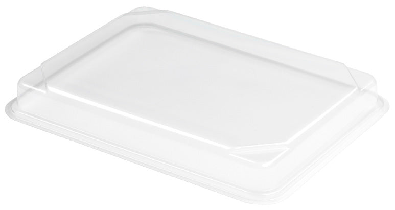 Clear rPET BENTO Lid - GM Packaging (UK) Ltd
