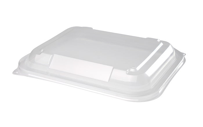 PP Lid to fit 650/1000ml Rectangular Microwave Containers - GM Packaging (UK) Ltd