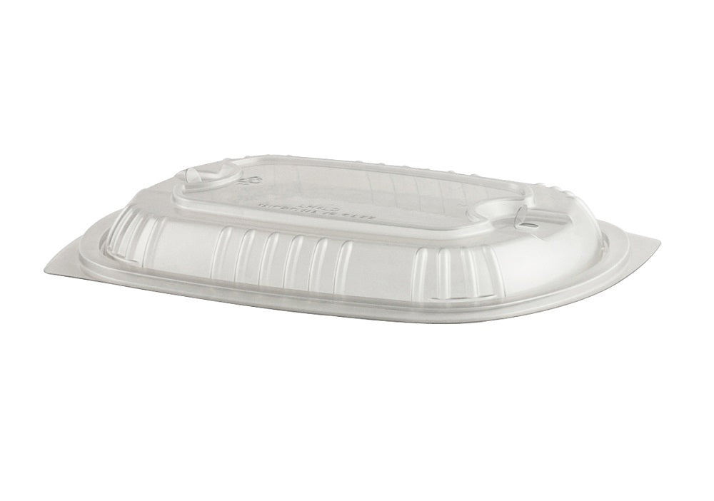 263x183x35mm PP Dome Lid Microwave