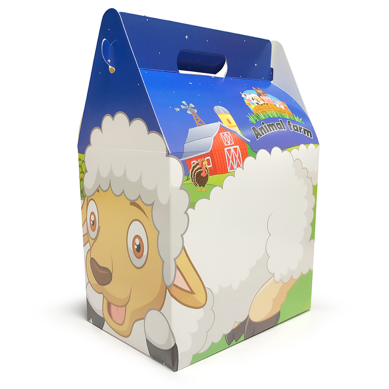 Kids Meal Food Box - GM Packaging UK Ltd