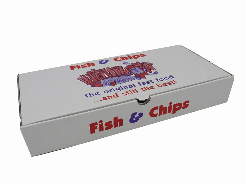large fish and chips box - GM Packaging UK Ltd