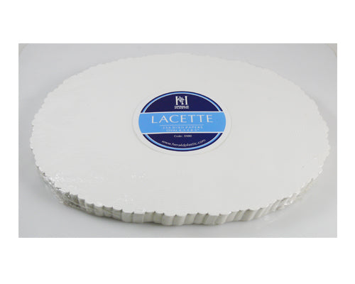 "6.5x8.5"" Oval Paper Doilies - GM Packaging (UK) Ltd"