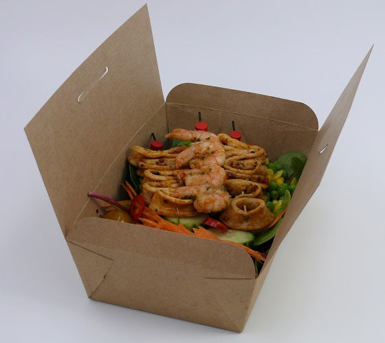 take away food box with folding lid - GM Packaging UK Ltd