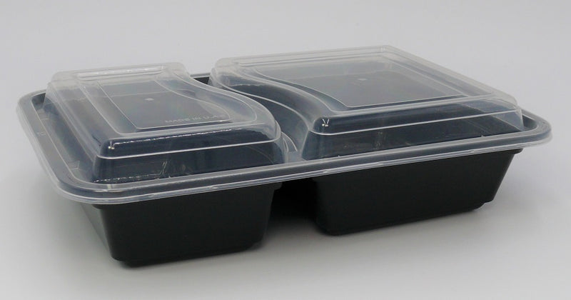 2 compartment microwave containers - GM Packaging UK Ltd