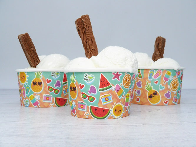 eco friendly ice cream tubs - GM Packaging UK Ltd