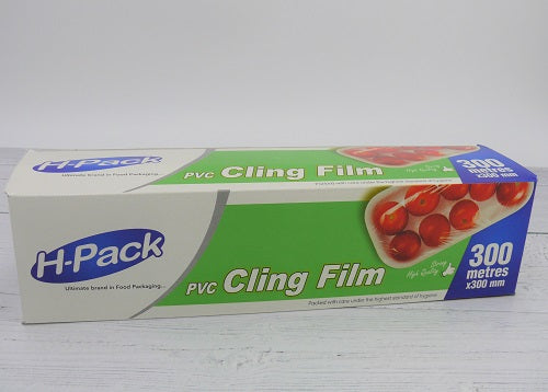 300mm x 300mtr Cling Film Cutterbox - GM Packaging (UK) Ltd
