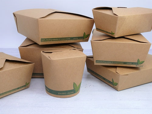 Compostable Kraft Food Boxes  #4 - GM Packaging (UK) Ltd
