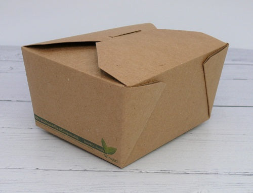 compostable kraft food box - GM Packaging UK Ltd