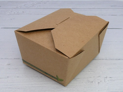 Compostable Kraft Food Boxes #1 - GM Packaging (UK) Ltd