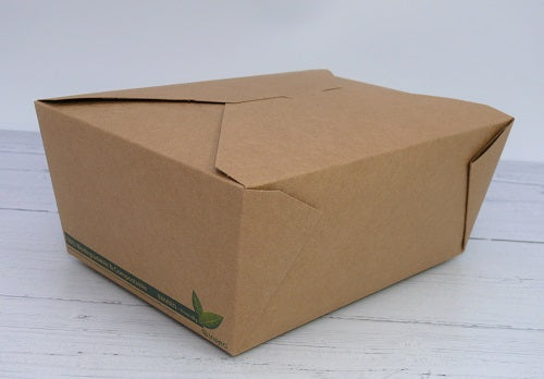 Compostable takeaway food box - GM Packaging UK Ltd