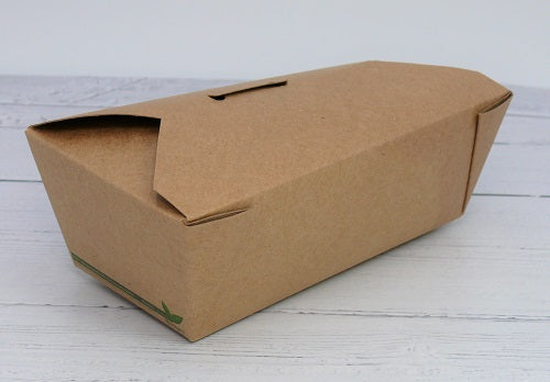Compostable take away food container - GM Packaging UK Ltd