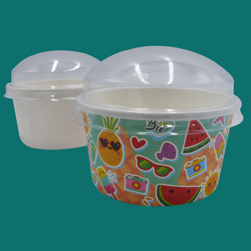 Ice cream dome lid - GM Packaging UK Ltd