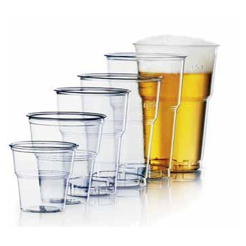 PLA Pint to line clear Tumbler-CE Marked - GM Packaging (UK) Ltd