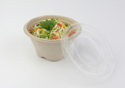 12oz Sustainable Soup Pots with PP Lids - GM Packaging (UK) Ltd
