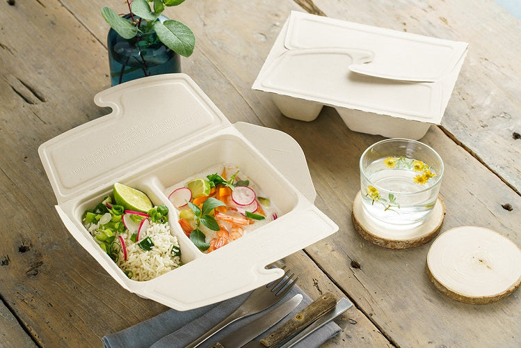 2 compartments food to go box - GM Packaging UK Ltd
