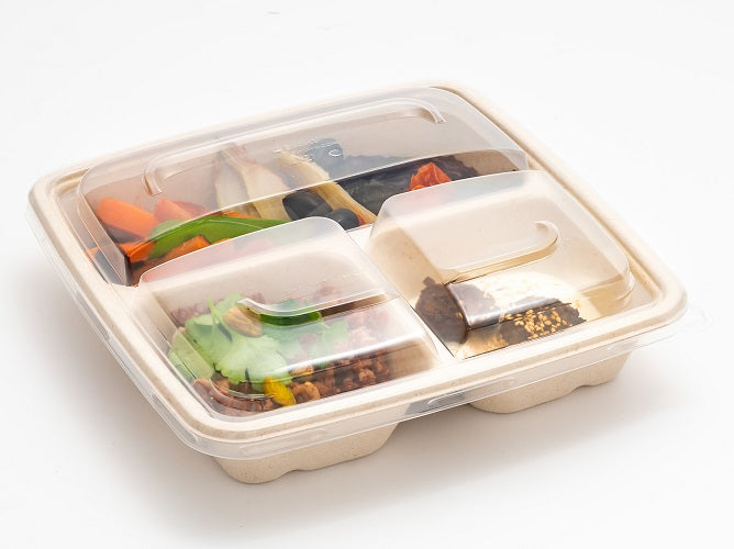 3 Compartments PP Microwave Lids