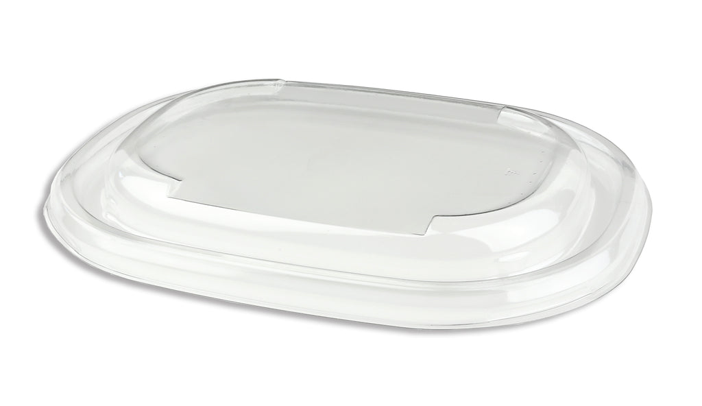 Oval lids to fit 620ml/770ml pulp bowls - GM Packaging (UK) Ltd
