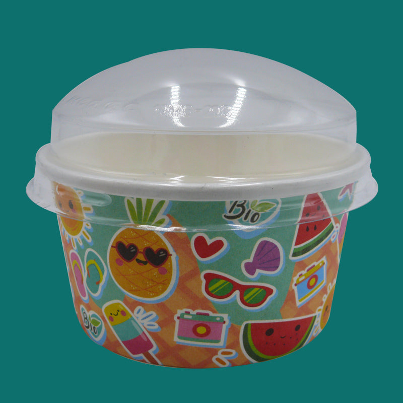 95mm dome lids - GM Packaging UK Ltd