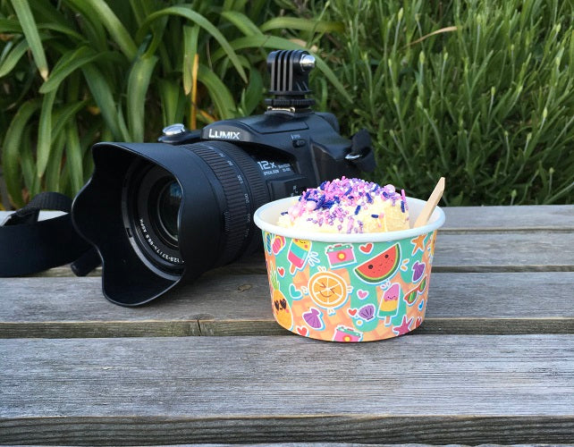 3oz Compostable Ice Cream Tubs - GM Packaging (UK) Ltd