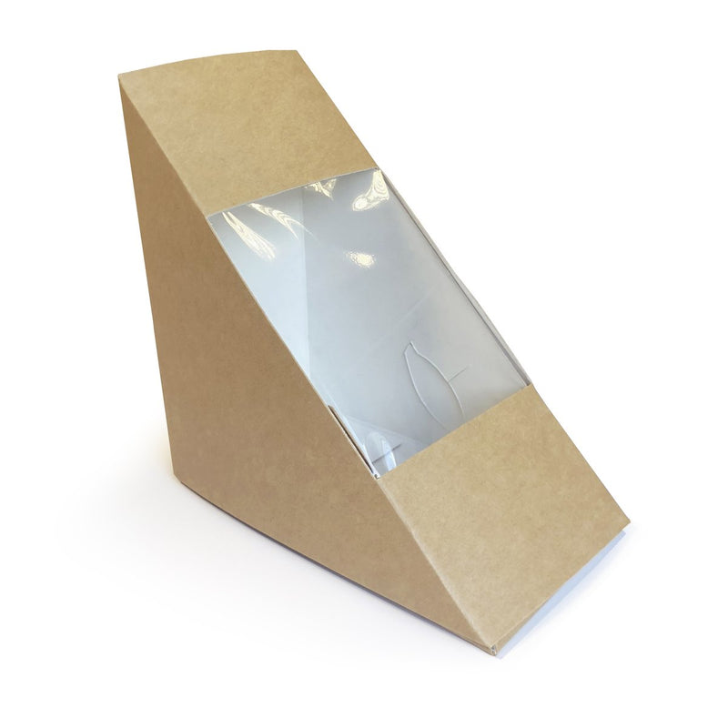 Standard Kraft Sandwich Wedges - GM Packaging (UK) Ltd