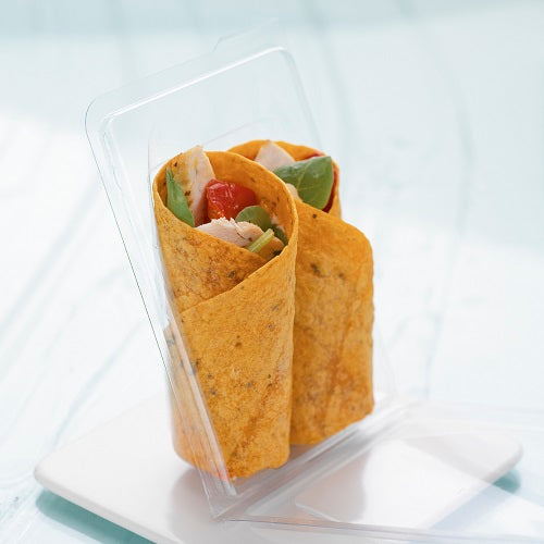 Tortilla Hinged Container - GM Packaging UK Ltd