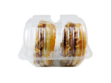 2 Doughnut Containers - GM Packaging (UK) Ltd