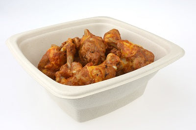 750ml Square Compostable Bowls/300s