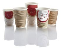 8oz 'Cuppoccino' Paper Coffee Cups