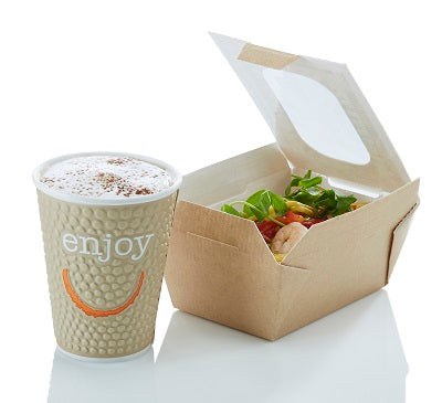 17.6oz Food to go Box with window-stock in 15.08.20 - GM Packaging (UK) Ltd
