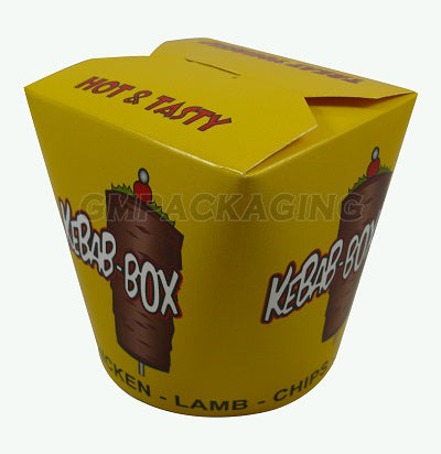 26oz Kebab Paper Box