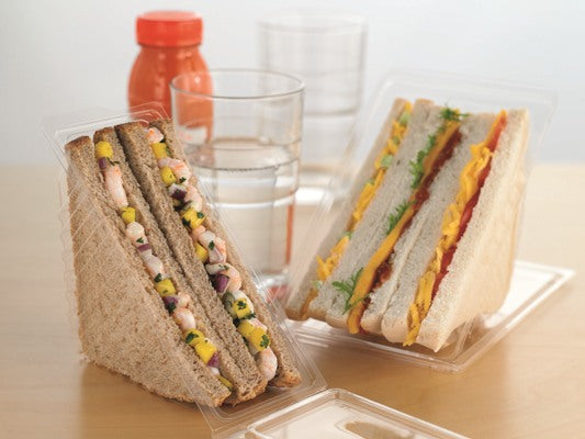 Standard Plastic Sandwich Containers - GM Packaging (UK) Ltd
