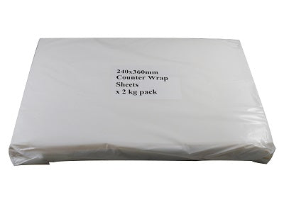 2 Kg Counter Wrap Sheets