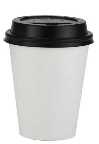 8oz White Paper Coffee Cups - GM Packaging UK Ltd