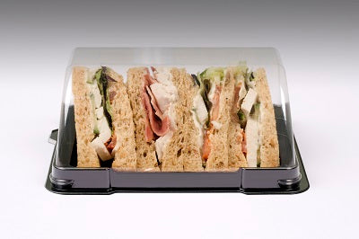 Clear Cafe Boat Lids - GM Packaging UK Ltd
