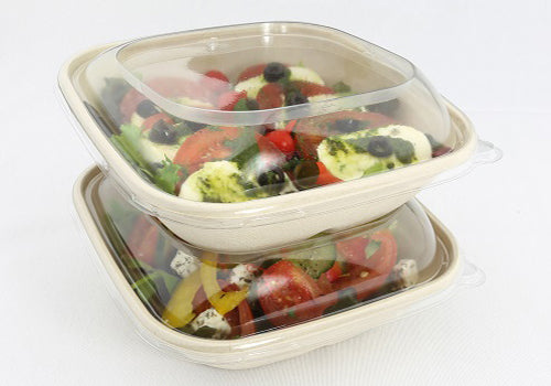 Square and Slope Lid to fit 750ml Pulp Bowls/300s