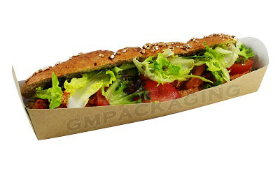 kraft baguette trays - GM Packaging UK Ltd