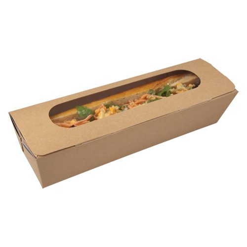 10 inch Tuck-Top Baguette Box - GM Packaging (UK) Ltd