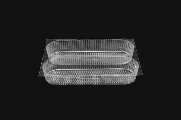 Double Cavity Eclair Tray - GM Packaging (UK) Ltd