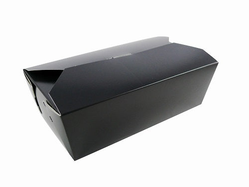 985ml Black  Cardboard Food Box - GM Packaging (UK) Ltd
