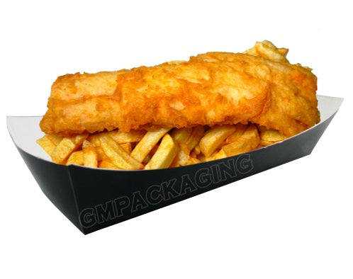 Black Food Trays - GM Packaging (UK) Ltd