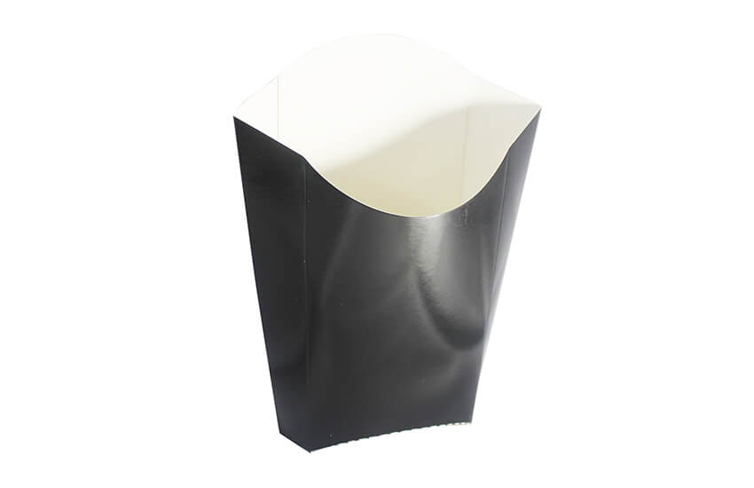 Black Large Chip Scoop - GM Packaging (UK) Ltd