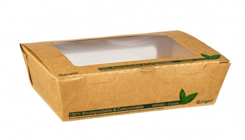 700ml compostable salad window box Dispo - GM Packaging UK Ltd