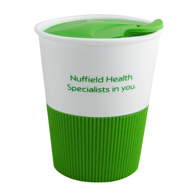 Nuffield Reusable Coffee Cups - GM Packaging (UK) Ltd