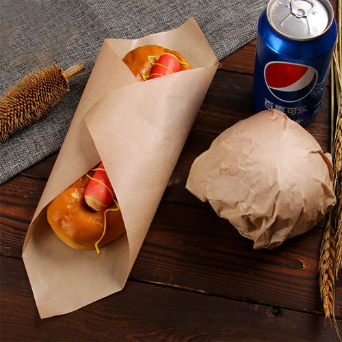 275x300mm Brown Greaseproof Paper Sheets - GM Packaging (UK) Ltd